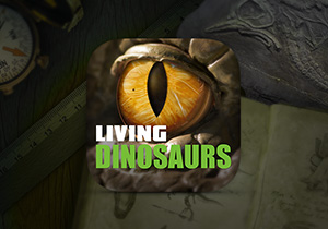 Living Dinosaurs iPhone & Android app